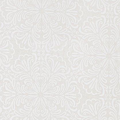 "Рулонная штора ролло ""Сантайм Металлик Принт Крем"", ширина 140 см (03-7591-140), фото 2"