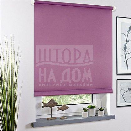 "Рулонная штора ролло ""Сантайм Уни Фиолетовый"", ширина 130 см (03-170-130), фото 1"