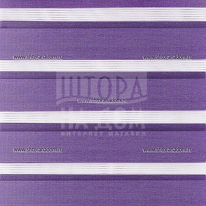 """Рулонная штора """"День-ночь Фиолетовый"""" (409-gr), фото 5"""