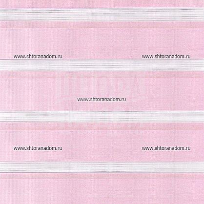 """Рулонная штора """"День-ночь Розовый"""", ширина 68 см (410-72(68) ), фото 5"""
