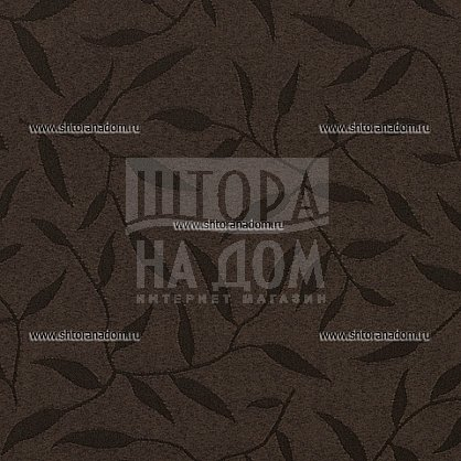 "Рулонная штора ролло ""Сантайм Жаккард Оливия Шоколад"", ширина 120 см (03-8261-120), фото 2"