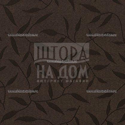 "Рулонная штора ролло ""Сантайм Жаккард Оливия Шоколад"", ширина 140 см (03-8261-140), фото 2"