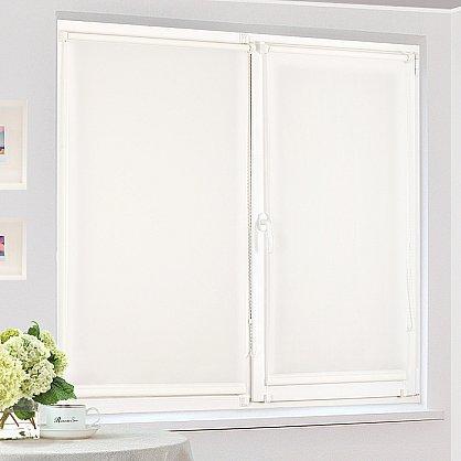 "Рулонная штора ""Сантайм уни Белый"", ширина 95 см (100-99(95)), фото 3"