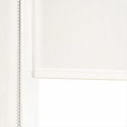 "Рулонная штора ролло ""Сантайм уни Белый"", ширина 120 см (03-100-120), фото 2"