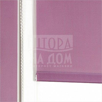 "Рулонная штора ролло ""Сантайм Уни Фиолетовый"", ширина 130 см (03-170-130), фото 2"