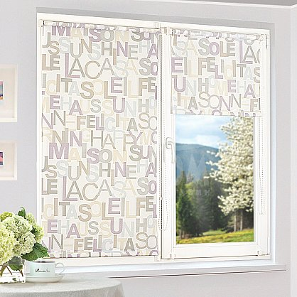 """Рулонная штора """"Сантайм-рисунок Глория Литера-1"""", ширина 62 см (2361-66(62)), фото 1"""