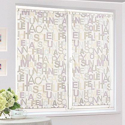 """Рулонная штора """"Сантайм-рисунок Глория Литера-1"""", ширина 81 см (2361-85(81)), фото 2"""