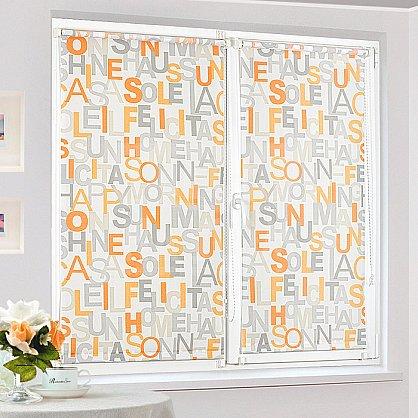 """Рулонная штора """"Сантайм-рисунок Глория Литера-2"""", ширина 43 см (2363-47(43)), фото 2"""
