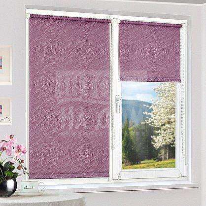 "Рулонная штора ""Сантайм-жаккард Веда Фиолетовый"", ширина 115 см (879-119(115)), фото 1"