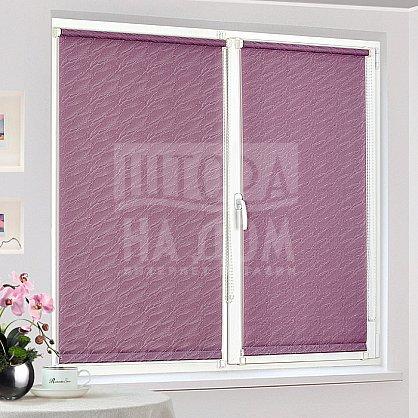 "Рулонная штора ""Сантайм-жаккард Веда Фиолетовый"", ширина 115 см (879-119(115)), фото 2"