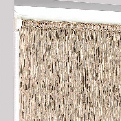 "Рулонная штора ""Сантайм Натур Коричневый"", ширина 48 см (2281-52(48)), фото 4"