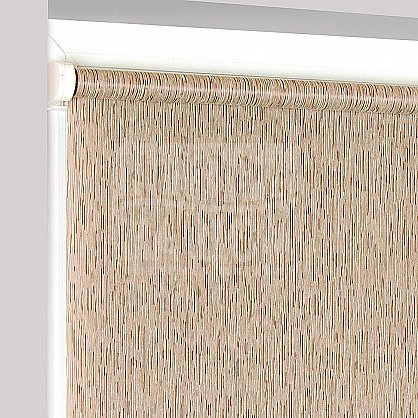 "Рулонная штора ""Сантайм Натур Коричневый"", ширина 57 см (2281-61(57)), фото 4"