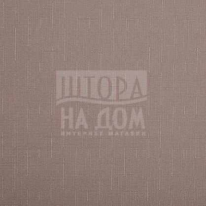 "Рулонная штора эконом ""Сантайм Уни Лен Какао"" (2439-gr), фото 3"