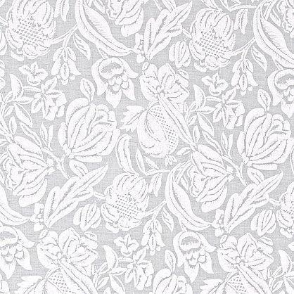 """Рулонная штора """"Сантайм-рисунок Глория Белая роза"""" (276-gr), фото 3"""