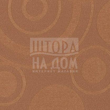 "Рулонная штора ""Сантайм Глобо Какао"", ширина 62 см (2827-66(62)), фото 3"