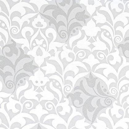 "Рулонная штора ""Сантайм-рисунок Футура белый/серебро"", ширина 52 см (2910-56(52)), фото 3"