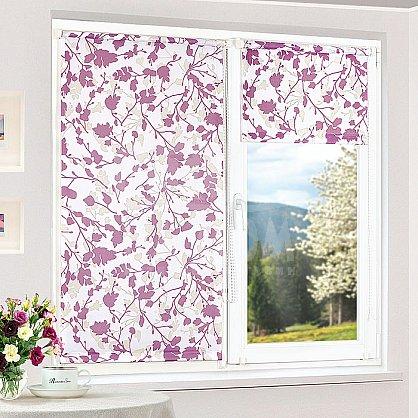 """Рулонная штора """"Дуэт Аллиум, Фиолетовый"""", ширина 57 см (2553-61(57)), фото 1"""