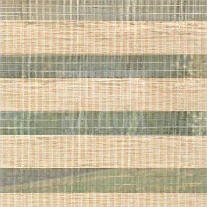 """Рулонная штора """"День-ночь Бамбук Золотой Песок"""", ширина 130 см (42903-134(130)), фото 6"""