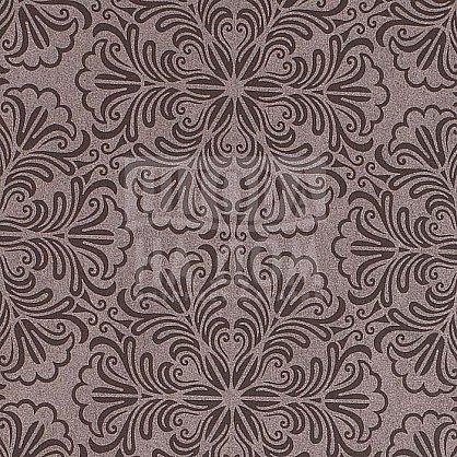 """Рулонная штора """"Сантайм Металлик принт Шоколад"""" (7592-gr), фото 3"""