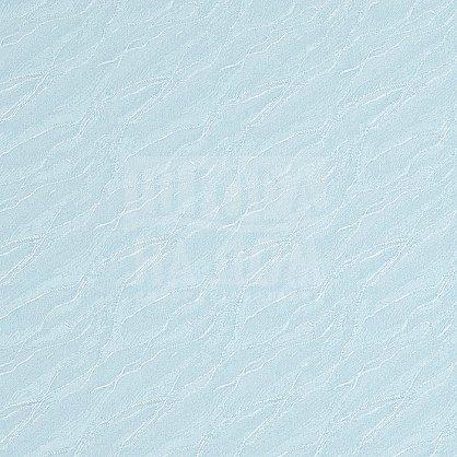 "Рулонная штора ""Сантайм-жаккард Веда Голубой"", ширина 34 см (840-38(34)), фото 3"