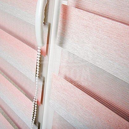 "Рулонная штора ""День-Ночь Сантайм Престиж Сакура"" (4807-gr), фото 11"