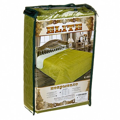 Покрывало Elite №007, салатовый (mn-007-gr), фото 2