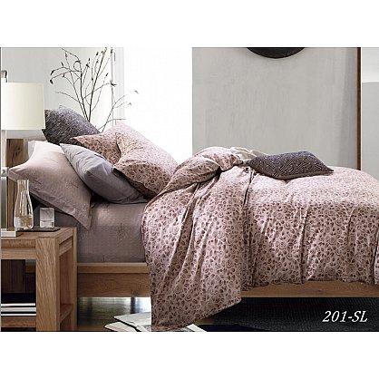 КПБ Сатин набивной Люкс дизайн 201 (1.5 спальный) (cl-104292), фото 1