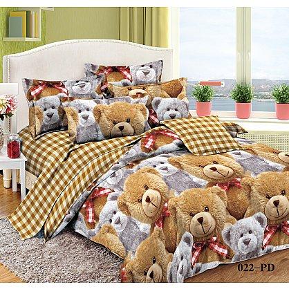 КПБ Поплин детский Плюшики (1.5 спальный) (cl-104493), фото 1
