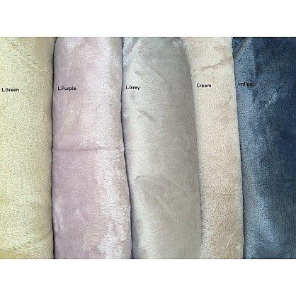 "Плед ""LEVELE"" Вельсофт, темно-серый, 160*200 см-A (kr-2002-CHAR007-A), фото 2"