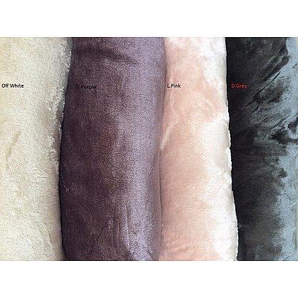 "Плед ""LEVELE"" Вельсофт, темно-серый, 160*200 см-A (kr-2002-CHAR007-A), фото 3"