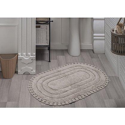 "Коврик для ванной кружевной ""MODALIN YANA"", кремовый, 60x100 см (kr-5025-CHAR004), фото 2"