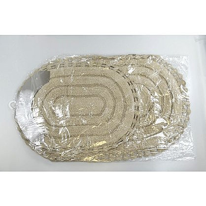 "Набор ковриков для ванной кружевной ""MODALIN YANA"" (60x100; 50x70), кремовый (kr-5026-CHAR002), фото 3"