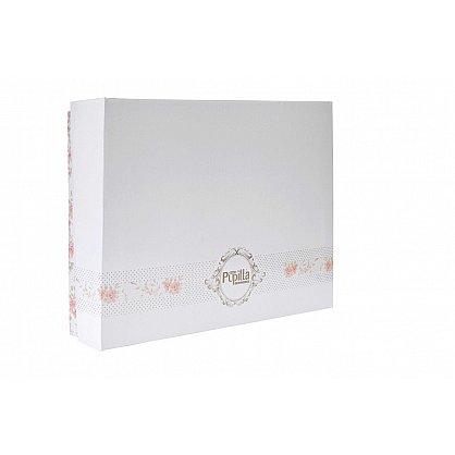 """Простынь махровая """"PUPILLA SORTI"""" в коробке, сиреневый, 200*220 см (kr-100983), фото 2"""