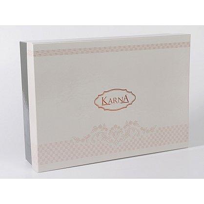 "Покрывало жаккард ""KARNA GREVEN"", стоне, 260*260 см (kr-102056), фото 2"