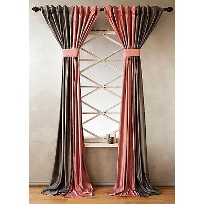 Комплект штор КИДМАН, розовый, 200*270 см (bl-01-112-02 LXL27), фото 2