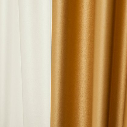 Комплект штор КИДМАН, золотой (bl-01-112-04-gr), фото 3