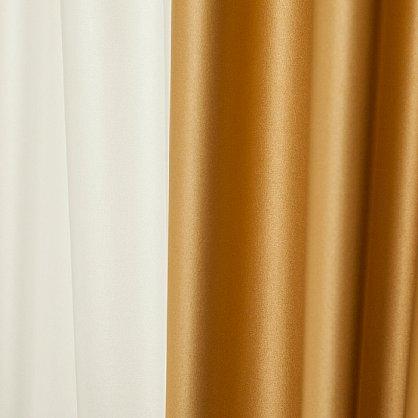 Комплект штор КИДМАН, золотой, 200*270 см (bl-01-112-04 LXL27), фото 3