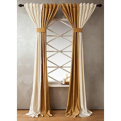 Комплект штор КИДМАН, золотой, 200*270 см (bl-01-112-04 LXL27), фото 2