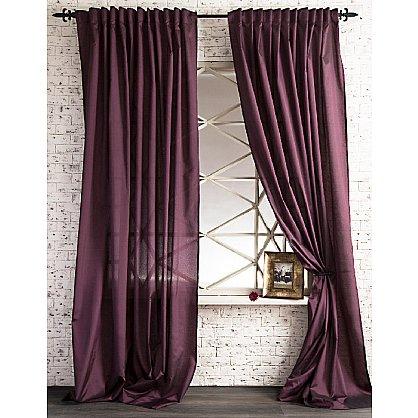 Комплект штор ЛОРИ, фиолетовый, 240*270 см (bl-01-113-05 LXL27), фото 1
