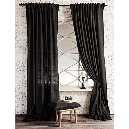 Комплект штор ЛОРИ, черный, 240*250 см (bl-01-113-08 LXL25), фото 1