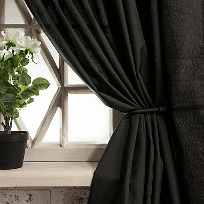 Комплект штор ЛОРИ, черный, 240*250 см (bl-01-113-08 LXL25), фото 2