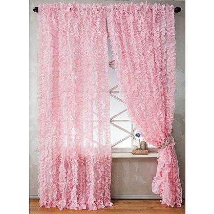 Комплект штор ЭББИ, розовый, 200*270 см (bl-01-200-03 LXL27), фото 1