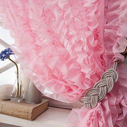 Комплект штор ЭББИ, розовый, 200*250 см (bl-01-200-03 LXL25), фото 2