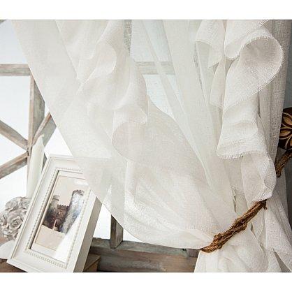 Комплект штор ИВИ, белый, 200*250 см (bl-01-202-01 LXL25), фото 2