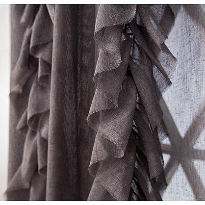 Комплект штор ИВИ, серый, 200*250 см (bl-01-202-03 LXL25), фото 2