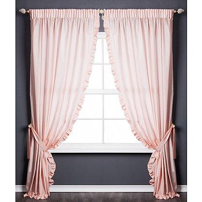 Комплект штор ОЛЛА, розовый, 240*270 см (bl-01-203-03 LXL27), фото 1