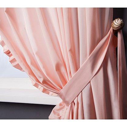 Комплект штор ОЛЛА, розовый, 240*270 см (bl-01-203-03 LXL27), фото 2