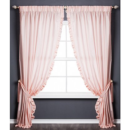 Комплект штор ОЛЛА, розовый, 240*250 см (bl-01-203-03 LXL25), фото 1