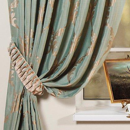 Комплект штор LOUVRE, зеленый, 170*250 см (bl-01-27-02 ML25), фото 2