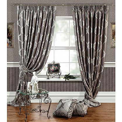 Комплект штор LOUVRE, серый, 170*250 см (bl-01-27-03 ML25), фото 1